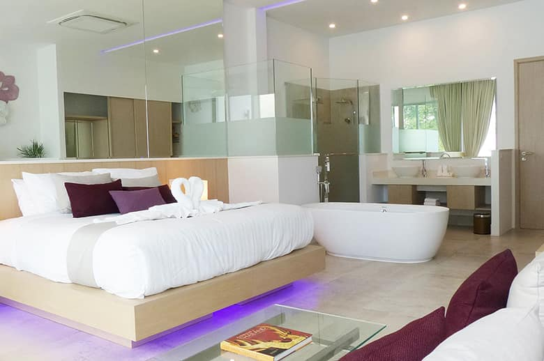 3. All bedrooms are equally spacious and luxurious
